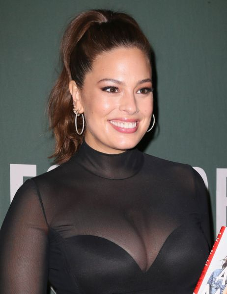 ashley graham ASHLEY GRAHAM at A New Model Book Signing in New York 05