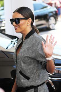 Eva Longoria Cannes Hotel Martinez In