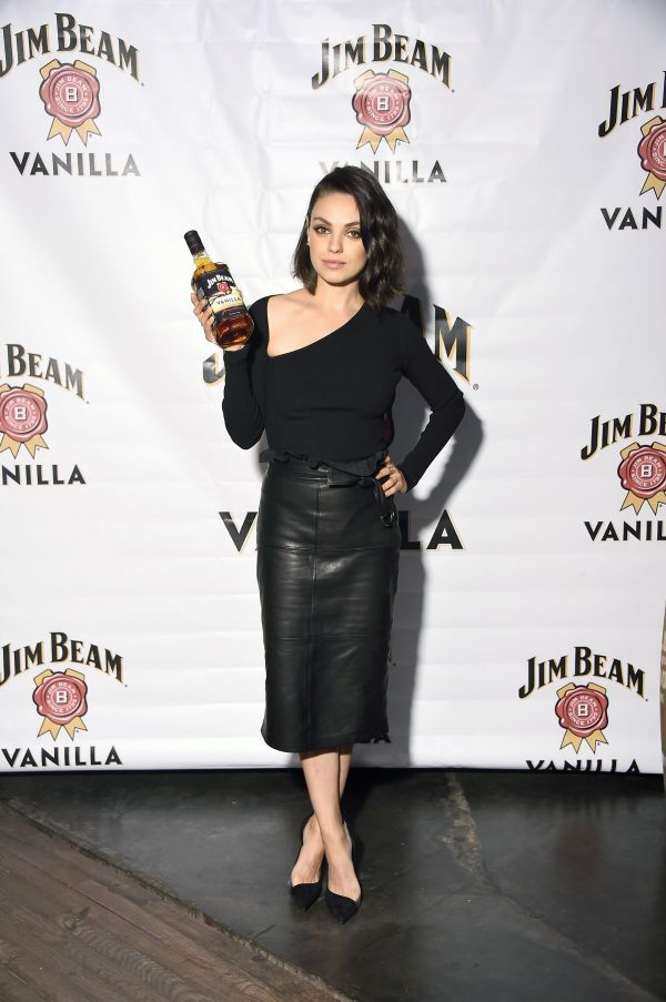 Mila Kunis Jim Beam Vanilla Launch Party In York 09 25 2017 - Hawtcelebs