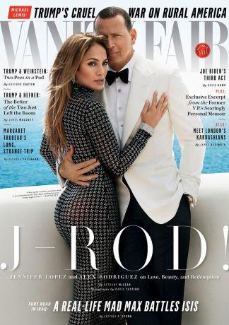 JENNIFER LOPEZ and Аlex Rodriguez for Vanity Fair Magazine, December 2017