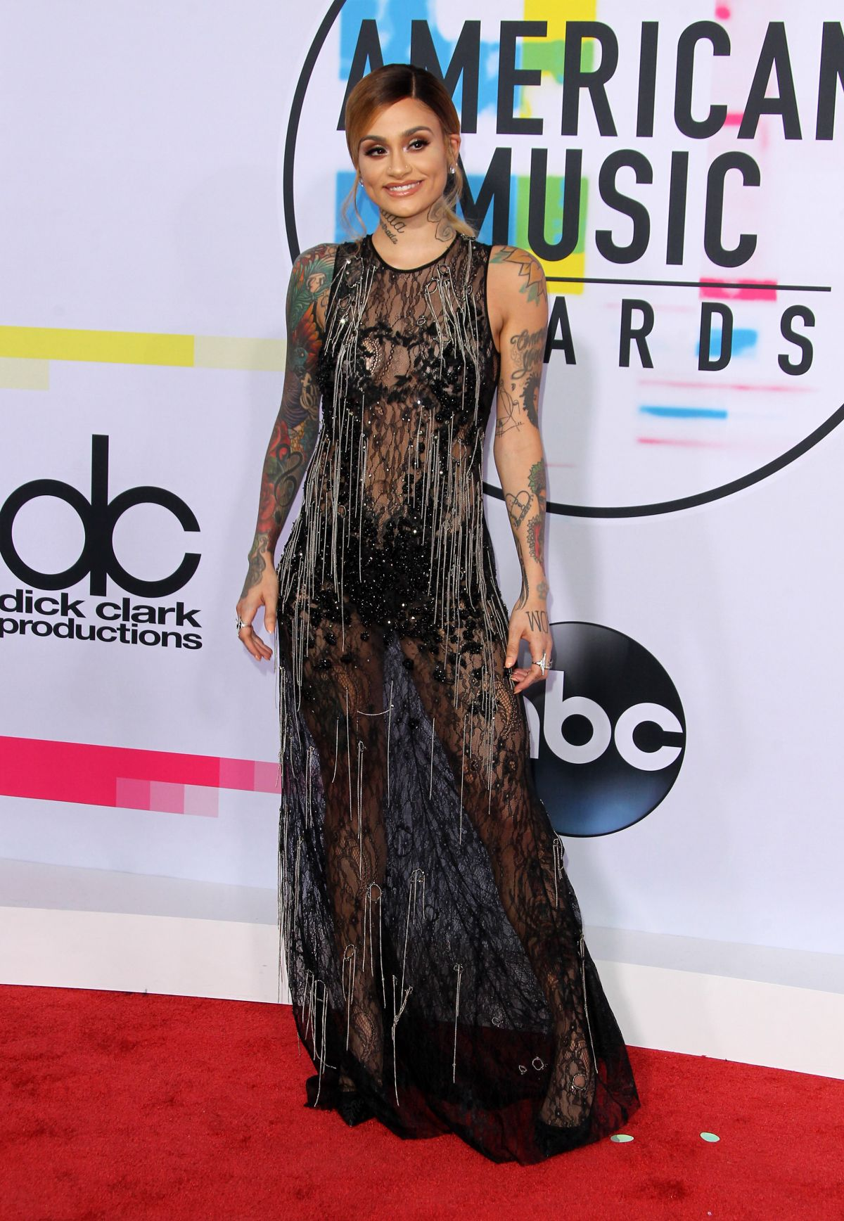 Kehlani At American Music Awards At Microsoft Theater