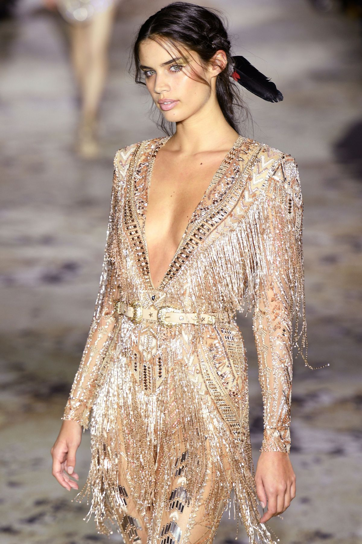 SARA SAMPAIO at Zuhair Murad SpringSummer 2018 Show at