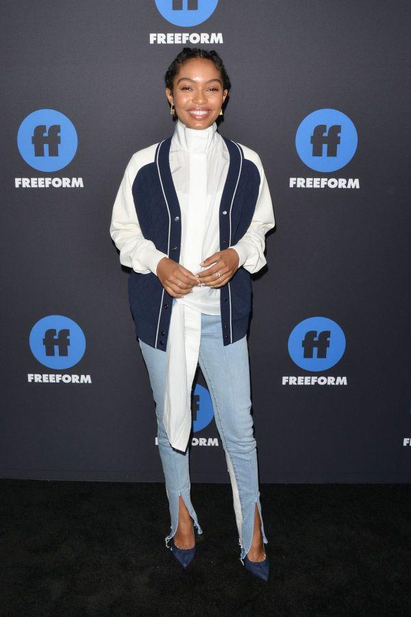 Yara Shahidi 2018 Freeform Summit In Hollywood 01 18 - Hawtcelebs