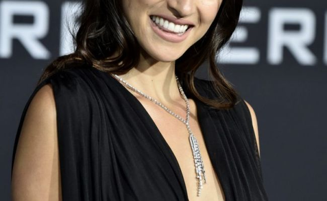 Adria Arjona At Pacific Rim Uprising Premiere In Hollywood