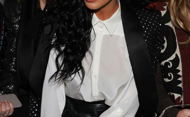 Nicole Scherzinger At Redemption Show At Paris Fashion