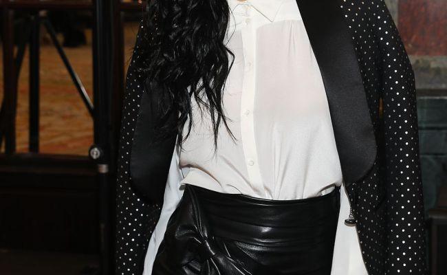 Nicole Scherzinger At Redemption Show At Paris Fashion