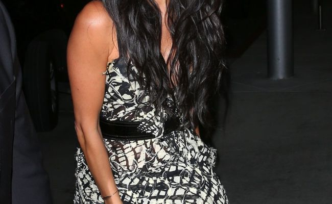 Nicole Scherzinger At Avra Restaurant Opening In Beverly