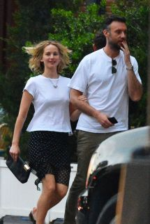 Jennifer Lawrence And Cooke Maroney In York 06 05