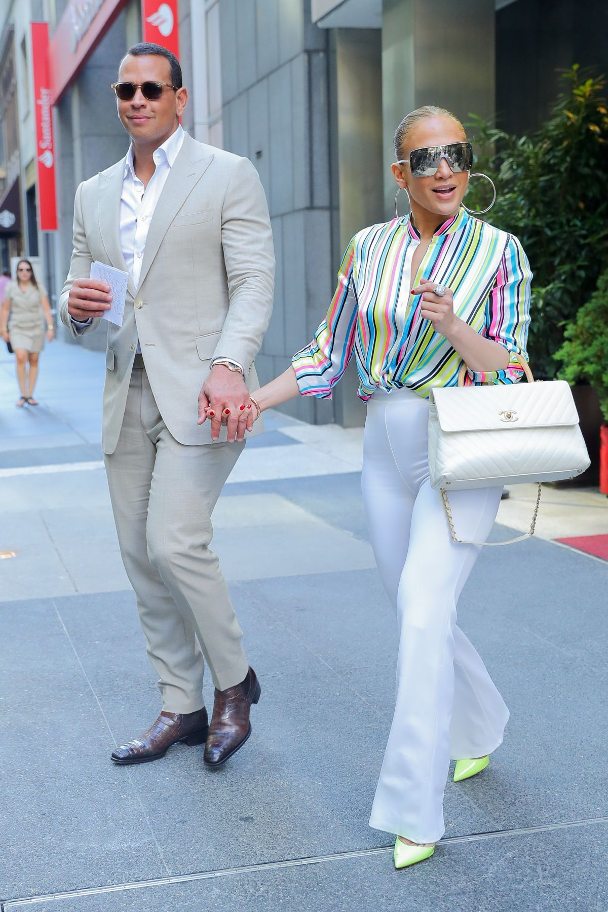 JENNIFER LOPEZ and Alex Rodriguez Leaves Casa Lever in New York 06292018  HawtCelebs