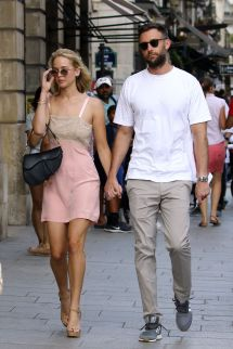 Jennifer Lawrence And Cooke Maroney In Paris