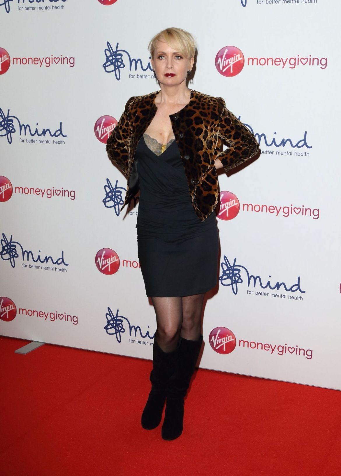 LYSETTE ANTHONY at Virgin Money Giving Mind Media Awards in London 11/29/2018