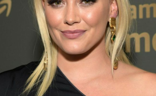 Hilary Duff At Hbo Golden Globe Awards Afterparty In
