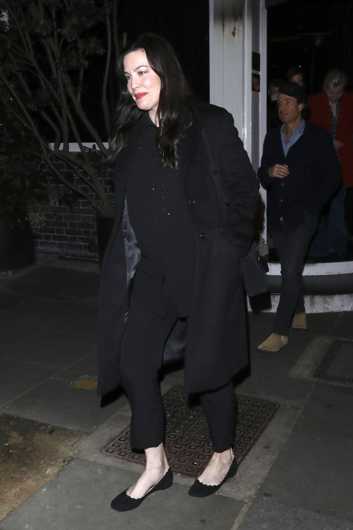 LIV TYLER Leaves Casa Cruz in London 01112019  HawtCelebs