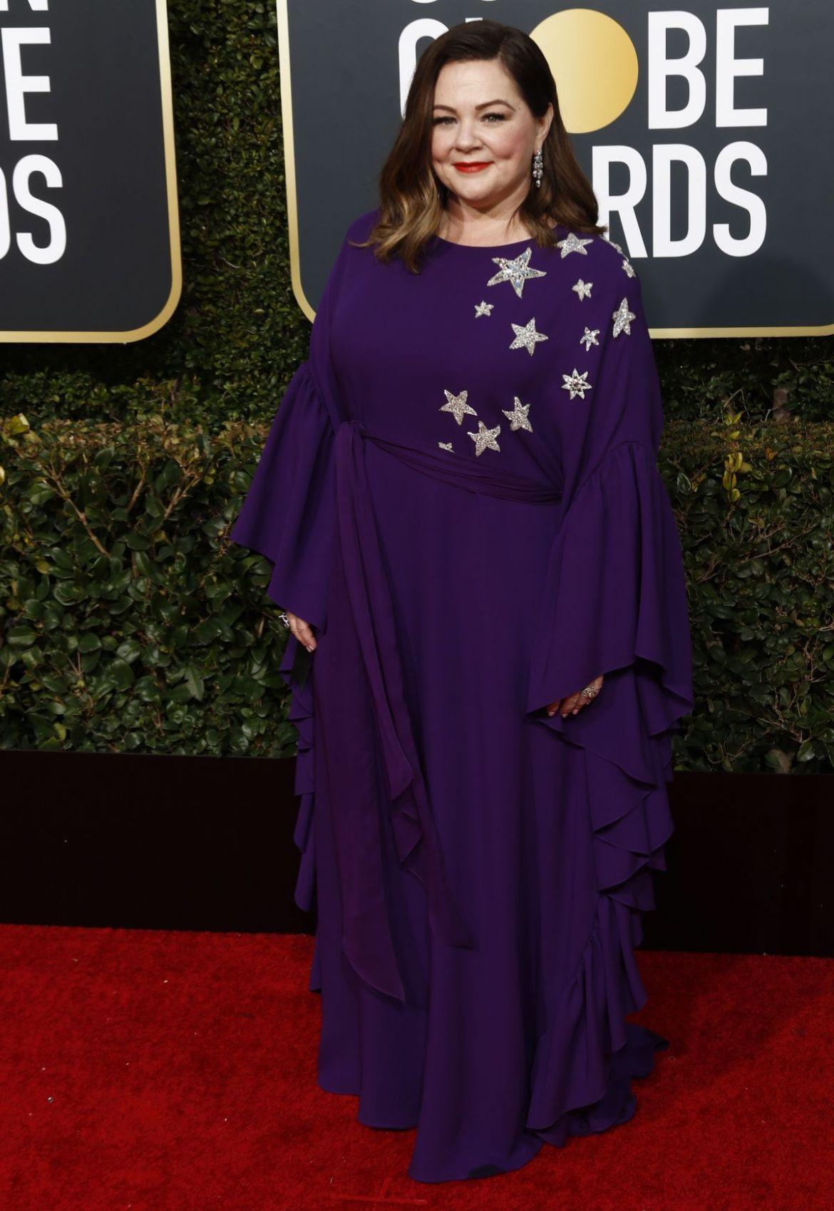 MELISSA MCARTHY at 2019 Golden Globe Awards in Beverly Hills 01/06/2019