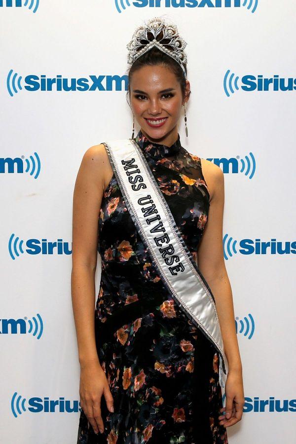 Miss Universe 2018 CATRIONA GRAY at SisriusXM Studio in