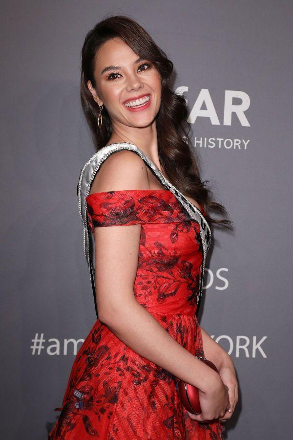 Miss Universe 2018 CATRIONA GRAY at Amfar New York Gala