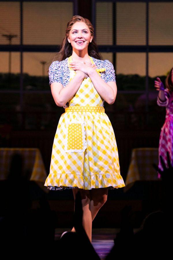 Katharine Mcphee Waitress Musical Press Night In