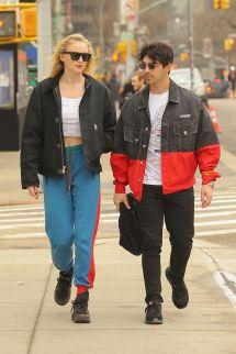 Sophie Turner And Joe Jonas In York 03 15 2019