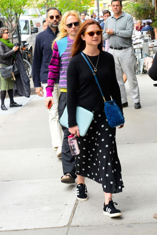 BONNIE WRIGHT Out And About In New York 04252019 HawtCelebs