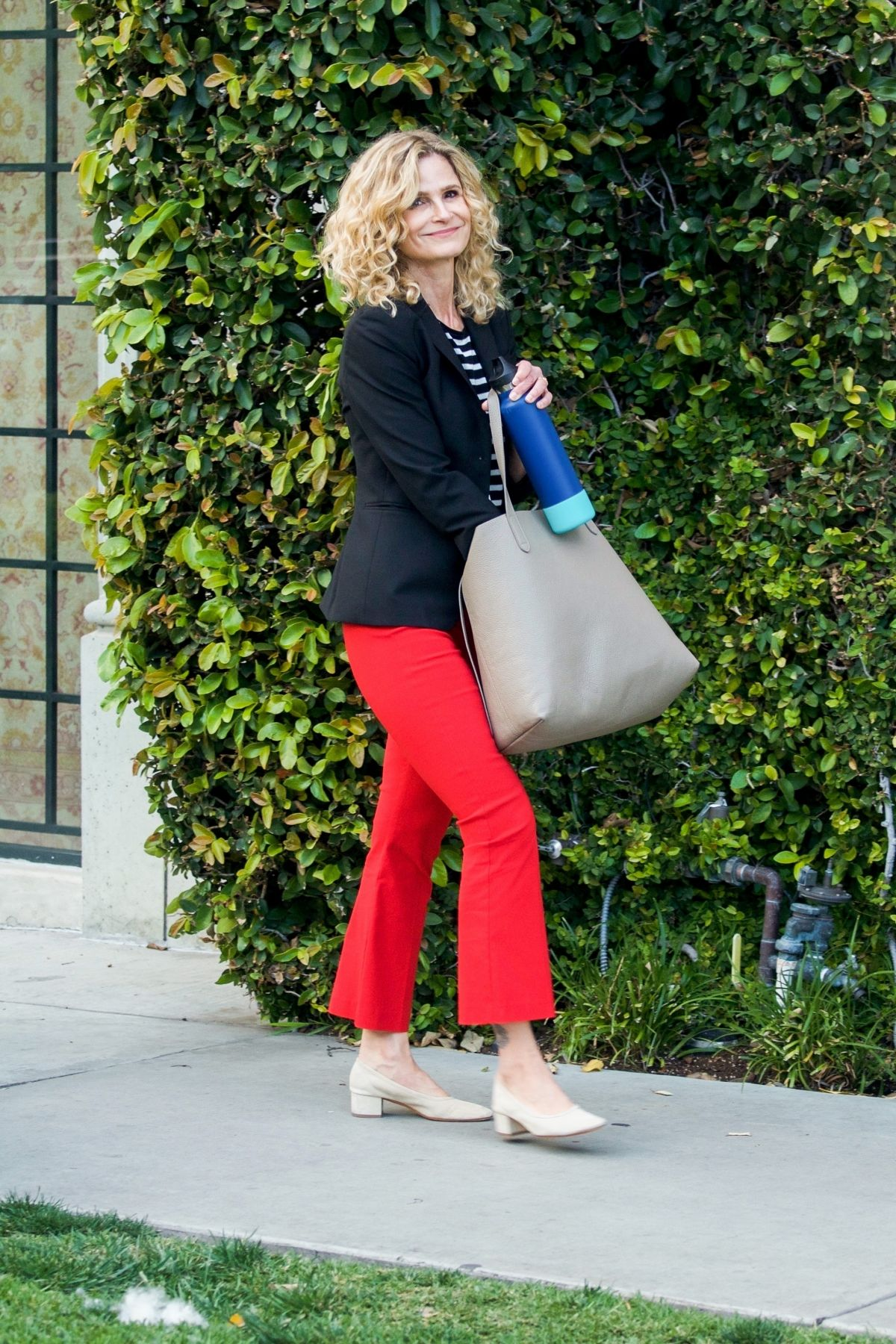 KYRA SEDGWICK Out Shopping in Los Angeles 04052019