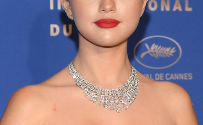 Selena Gomez At 72nd Cannes Film Festival Gala Dinner 05