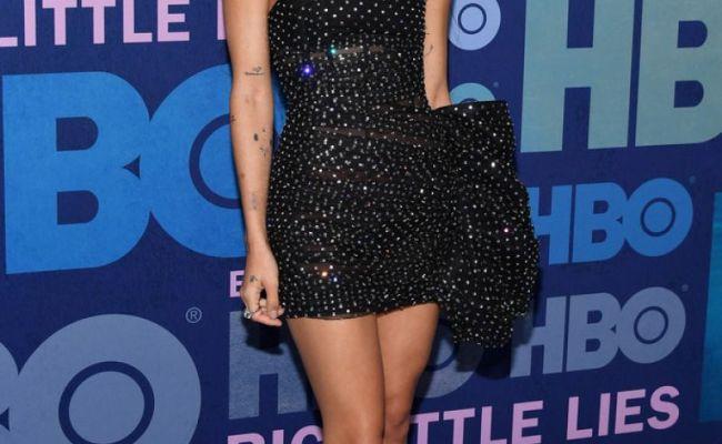 Zoe Kravitz At Big Little Lies Season 2 Premiere In New