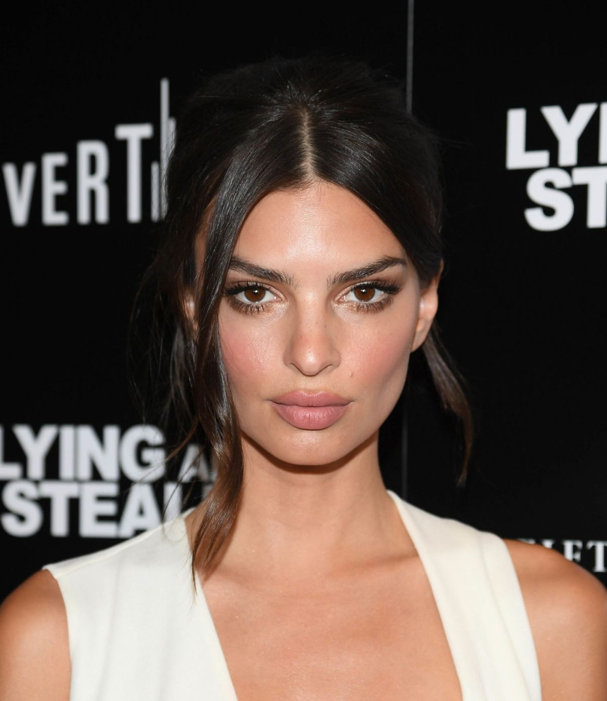Emily Ratajkowski At Lying And Stealing Screening In New