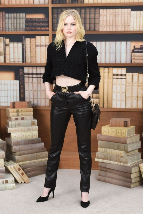 Ellie Bamber Chanel Haute Couture Fall Winter 2019 2020