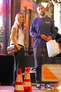 Jennifer Lawrence And Cooke Maroney Night In York