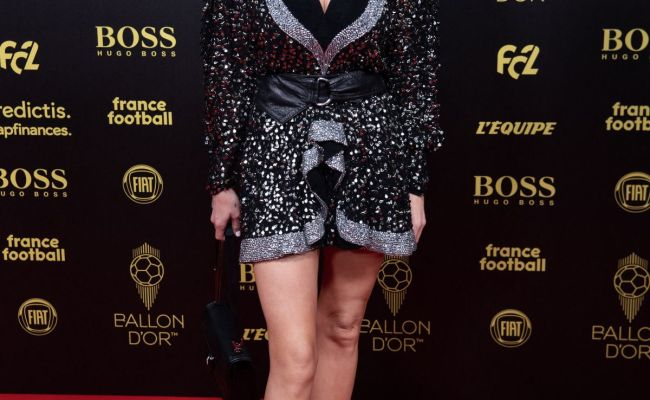 Caroline Receveur At Ballon D Or France Football 2019