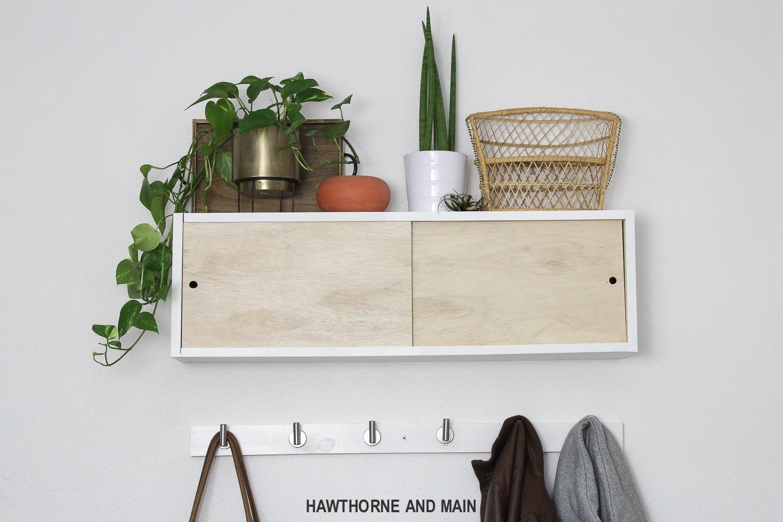Simple Diy Coat Rack Hawthorne And Main