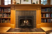 Hawthorne Tile   Portland Arts & Crafts Kitchen, Fireplace ...