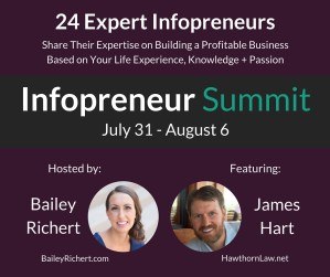 The 2016 Infopreneur Summit with Bailey Richert