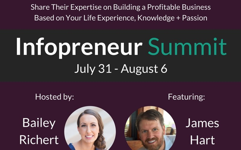 Infopreneur Summit Bailey Richert