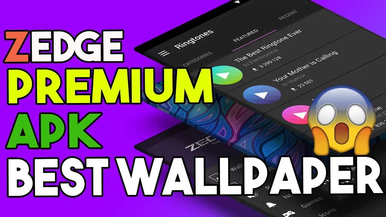 Download Zedge Premium APK Best Wallapper App For Android