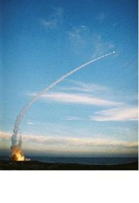 ניסוי טיל החץ - צילום: התעשיה האווירית
