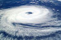 סופה במבט מתחנת החלל הבינלאומית, מתוך ויקיפדיה