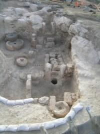 בית בד באלוני אבא צילום: רשות העתיקות