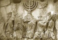 שער טיטוס ברומא. לא כל האוצרות נבזזו. היו גם כאלה שנגנזו