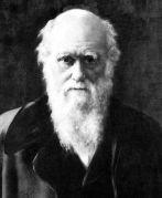 צילום של צ'ארלס דארווין בערוב ימיו