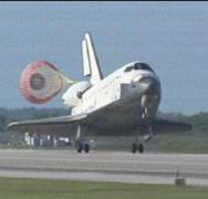 """הנחיתה האחרונה של אטלנטיס, 26 במאי 2010. צילום: נאס""""א"""
