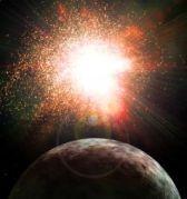 כוכב הלכת X שעלול לכאורה לפגוע בנו ב-2012. איור: universe today