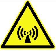 אזהרת קרינה לא מיננת.. מתוך ויקימדיה קומונס