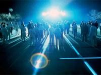 מתוך הסרט מפגשים מהסוג השלישי - רגע המפגש עם החייזרים