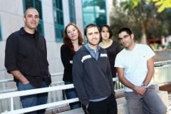 אלון חן וצוות המעבדה שלו. צילום: מכון ויצמן