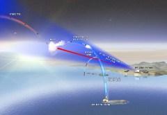 ניסוי טיל החץ, 22 בפברואר 2010. איור: התעשייה האווירית