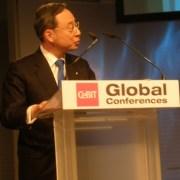 """ד""""ר צ'אנג-גיוט הוואנג, """"ה-CTO של דרום קוריאה"""". צילום: אבי בליזובסקי"""