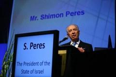 נשיא המדינה שמעון פרס בפתיחת כנס ביומד 2011