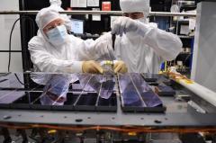 הרכבת טלסקופ החלל גאיה. סוכנות החלל האירופית