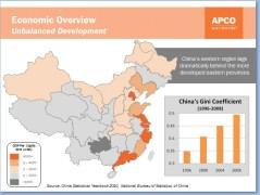 """צמיחת התלג של סין בשנים האחרונות. מקור: חברת הסחר אפקו, מתוך הרצאה שנתן נציגה קנט צ'ארט בת""""א, מאי 2011"""